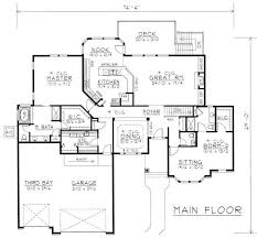 house plans with in suites contemporary ranch in