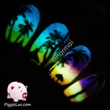 piggieluv 5 tips for taking glow in the dark nail photos