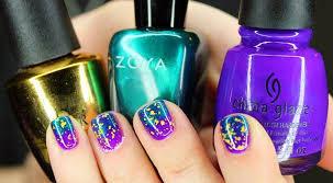 mardi gras nail tuesday mardi gras nails ft china glaze zoya opi nski