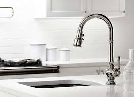 Single Handle Kitchen Faucets by Kohler Single Handle Kitchen Faucet With Classic Designs Home