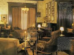interior view of the parlor of the house in the movie practical