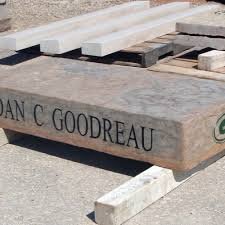 Firepit Bench by Stone Engraving