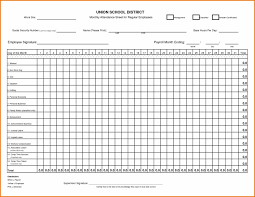 Vacation Accrual Spreadsheet Top Employee Attendance Sheet Template Spreadsheets To Manage Your