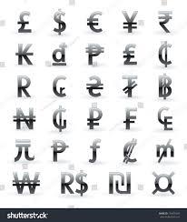 money symbols around the world hab immer ga
