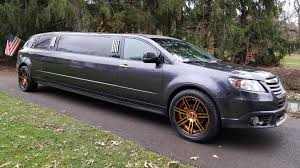 subaru custom cars subaru u0027s random all wheel drive tribeca stretch limo