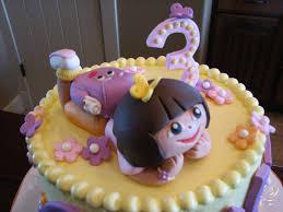 dora birthday cakes for your little u2014 marifarthing blog
