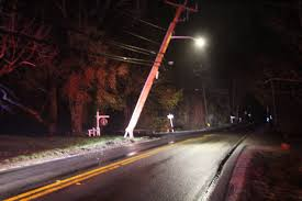 jeep vs pole on route 6a in west barnstable