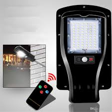 Outdoor Light Remote Control by Newest 3 Mode Remote Control 60leds 30w Solar Power Led Street