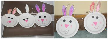 paper plate bunny basket u2013 quick and easy preschool craft