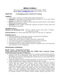 Oracle Applications Consultant Resume Download Technical Resume Docshare Tips