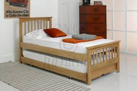 heywood solid oak guestbed single guest bed frames only