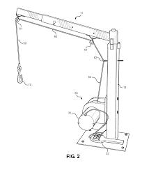 patent us20140144861 all terrain vehicle lifting crane apparatus