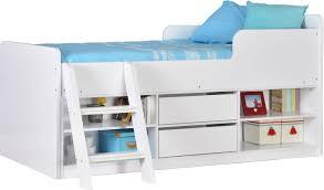 Viv Rae Felix Single Mid Sleeper Bed  Reviews Wayfaircouk - Mid sleeper bunk bed