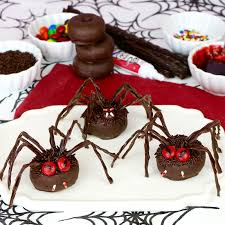 Spider Halloween Cake by Video Chocolate Spider Halloween Doughnuts Lindsay Ann Bakes