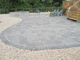 Limestone Patio Pavers by Brick Paver Patio Services Forked River Ruggiero Landscaping
