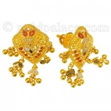 gold earrings online 22k gold earrings online goldpalace