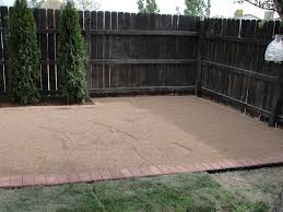ideas how to install pea gravel patio pea gravel concrete patio