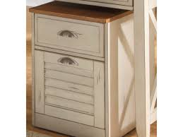 decor 37 decorative file cabinet at corner room rustic brown