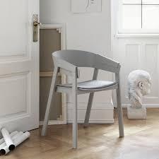 muuto cover chair seat upholstered by thomas bentzen danish