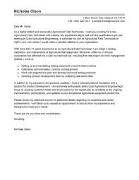 cover letter tips best field technician cover letter exles livecareer