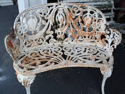 Vintage Cast Aluminum Patio Furniture - rod iron patio furniture vintage patio decoration