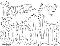simple quote coloring pages coloring
