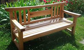Wooden Park Bench Bench Concrete Park Bench Vibrant Outdoor Wood Bench