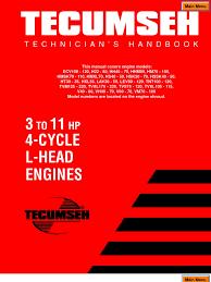tecumseh service manual carburetor throttle