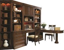 Hooker Bookcases Hooker Furniture Cherry Creek Partner U0027s Desk Peninsula