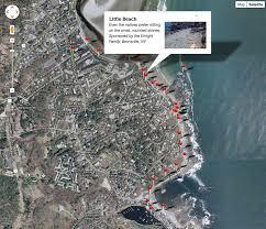 Google Live Maps Marginal Way Preservation Fund Website Printable Map Google