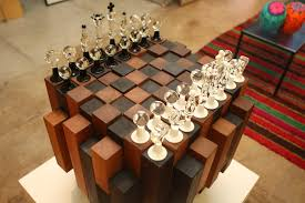 Chess Board Design Custom Chess Board Zollie Glass Studio