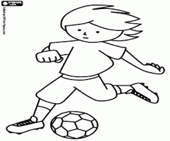 football soccer coloring pages printable games