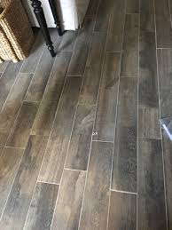 my wood look tile