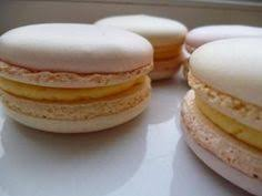 ginger macaroons with chocolate and plum filling sweets