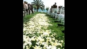 ideas for wedding aisle decorations youtube