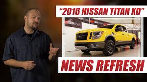custom nissan cummins 2016 nissan titan xd has a cummins diesel engine youtube