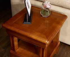 meuble bout de canapé bout de canapé ou table basse en merisier de style louis philipe