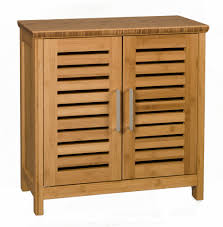 buy habitat taio bamboo double bathroom cabinet at argoscouk