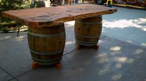 Wine Barrel Patio Table Slo Pest And Termite Wine Barrel Furniturewhy Would A Pest