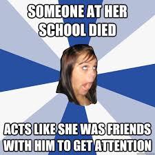 Facebook Girl Meme - annoying facebook girl memes quickmeme
