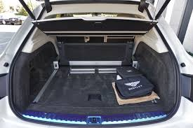 bentley bentayga trunk new bentayga w12 for sale in northbrook il bentley northbrook