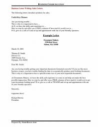 Writing A Business Letter Example by Business Letter Writing Phrases The Letter Sample