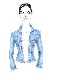 how to draw denim i draw fashion