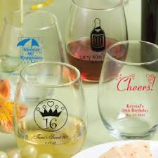 wine glass gift 15 ounce stemless wine glasses span class smaller gift boxes
