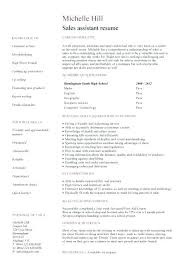 resume sles with no work experience resume of retail assistant a resume written from the perspective