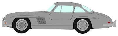 cartoon sports car png file mercedes benz 300sl profil svg wikimedia commons