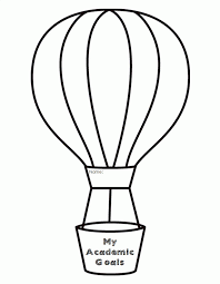 printable air balloon template coloring pages for kids and