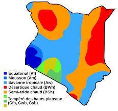 Kenya Map Africa by