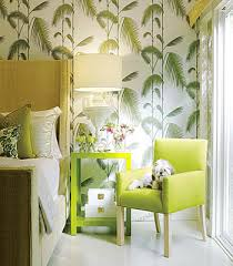 Wallpaper Design Ideas For Bedrooms Bedroom Decorating Ideas Green Paint And Wallpaper
