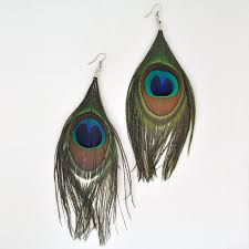 peacock feather earrings s best peacock feather earrings photos 2017 blue maize